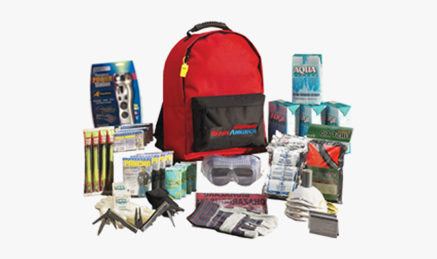 Earthquake Safety Kit, Transparent Clipart