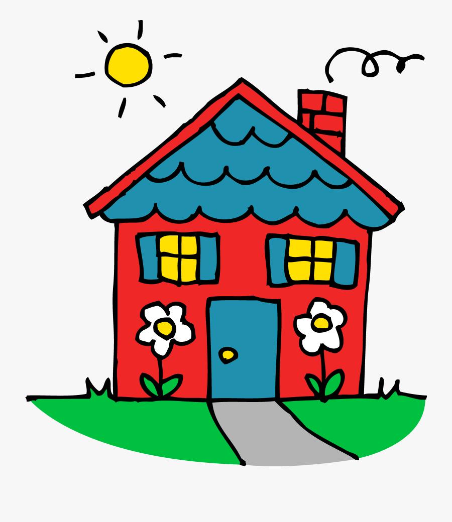 Damaged House - บ้าน การ์ตูน น่า รัก, Transparent Clipart