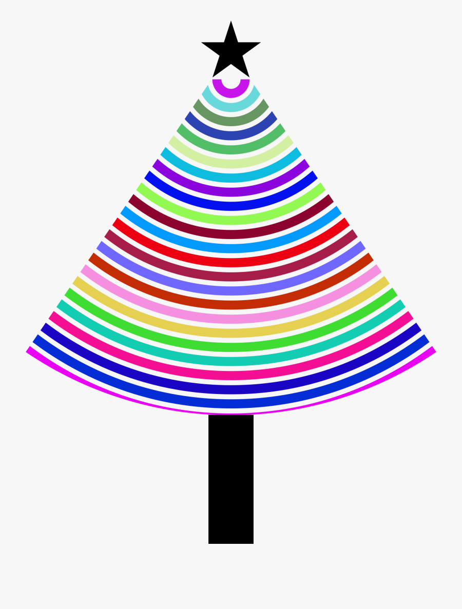 Multi - Floppy Christmas Tree Png, Transparent Clipart