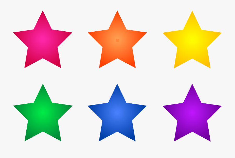 Gold Star Clipart No Background Free Clipart Image - Clip Art Colored Stars, Transparent Clipart