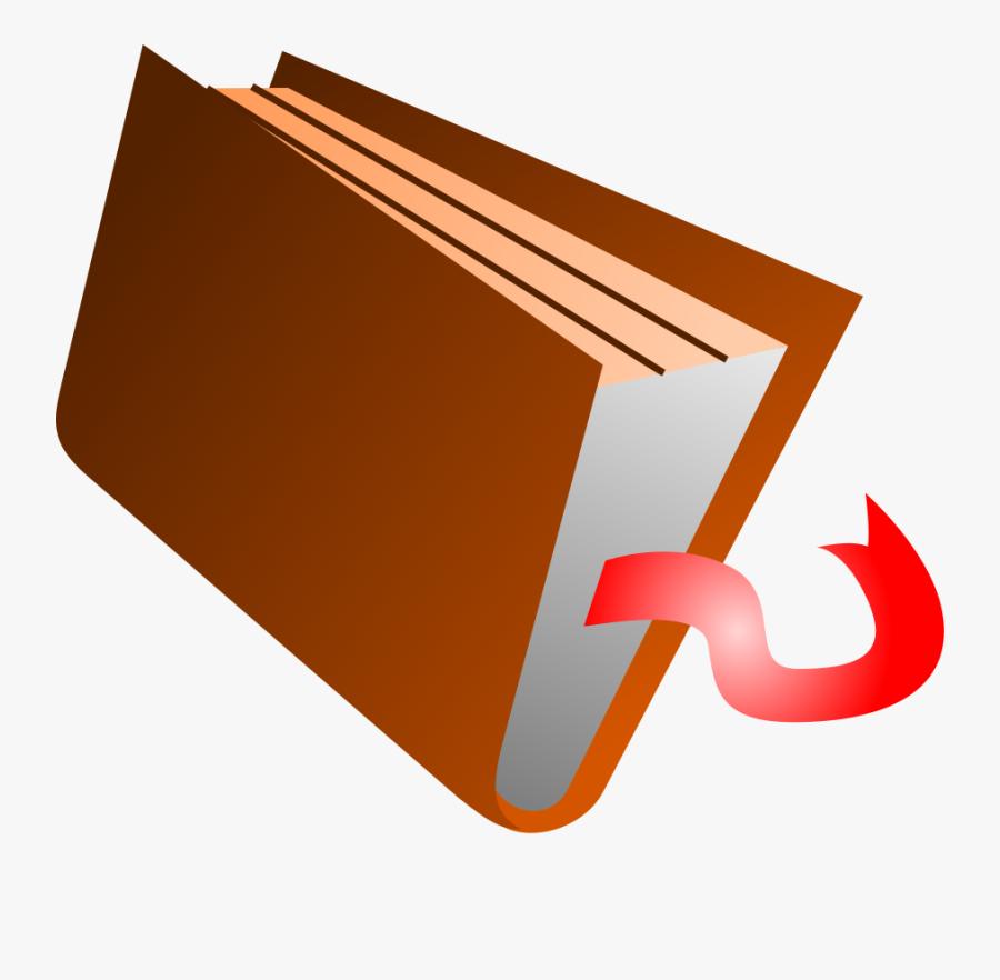 Book - Closing Book Clip Art, Transparent Clipart