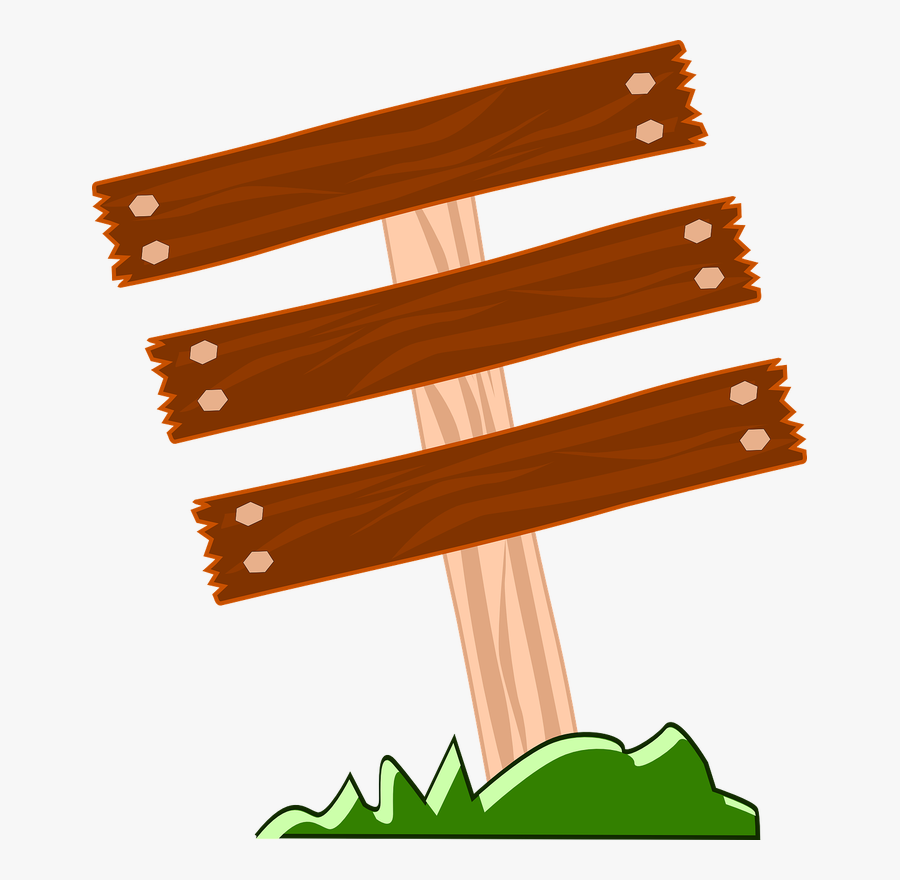 Wood Sign Clip Art And Others Art Inspiration - Wood Board Clipart, Transparent Clipart
