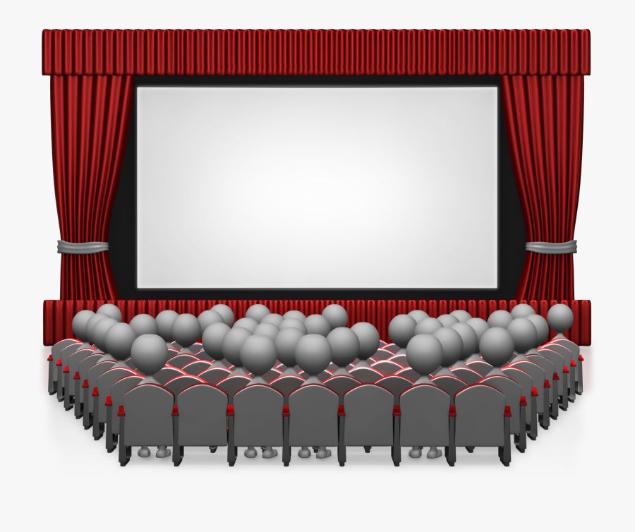 Movie Theater With People 1600 Clr Clipart Png Png Cinematic Free Transparent Clipart Clipartkey