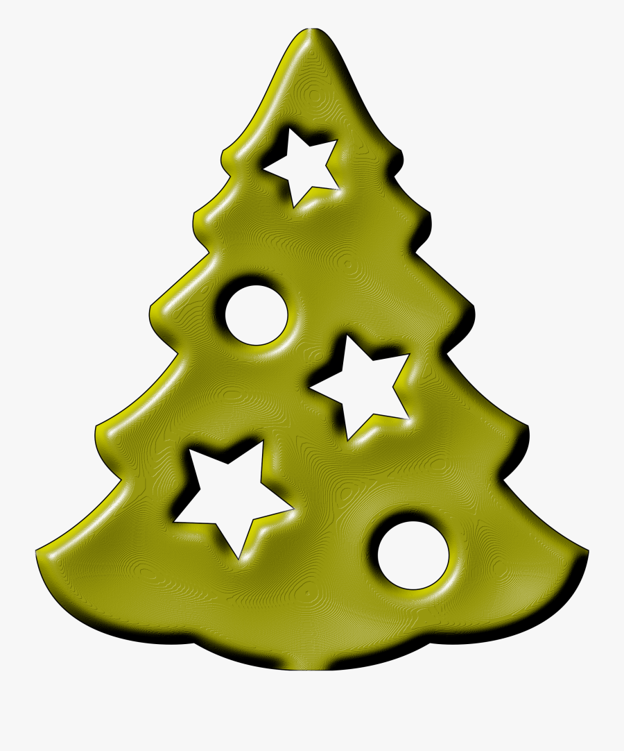 Christmas Tree Vector Black And White Stock - Elka Clip Art, Transparent Clipart