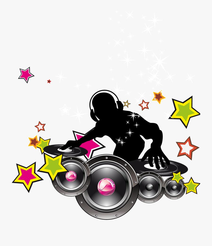 Transparent Dj Clipart - Dj Sound Logo Png, Transparent Clipart