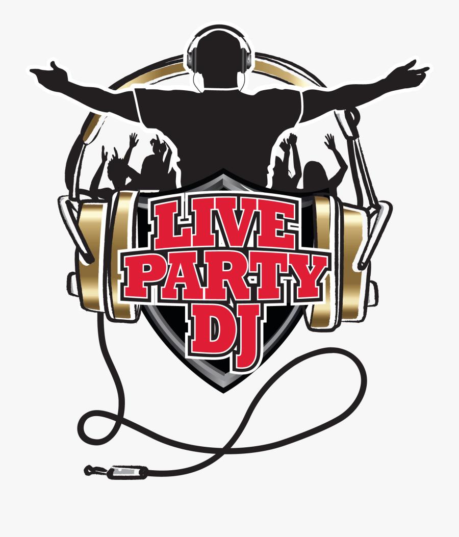 "Bringing Dj""s To Events Virtually - Dj Logo Vector Png, Transparent Clipart"
