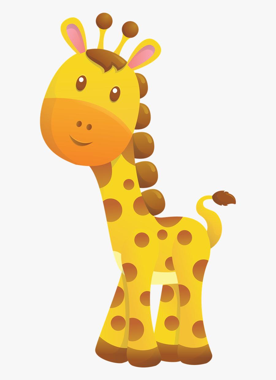 Free To Use Amp Public Domain Giraffe Clip Art - Printable Clipart Safari Animals, Transparent Clipart