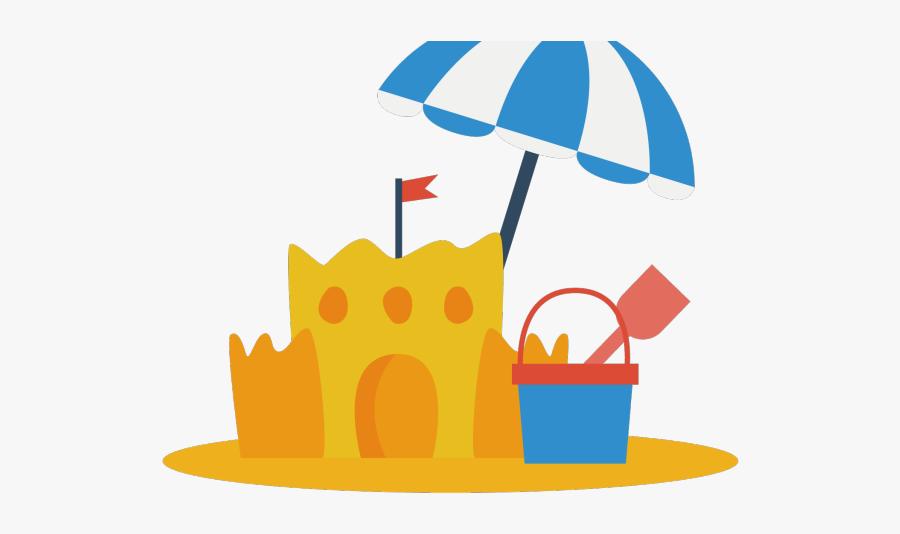 Sand Cliparts - Beach Sand Castle Cliparts, Transparent Clipart