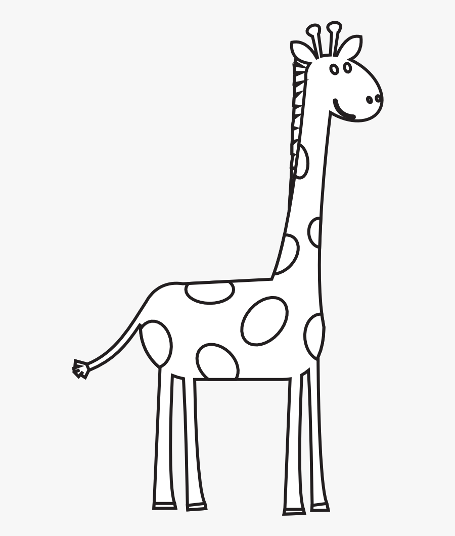 28 Collection Of Cute Giraffe Clipart Black And White ...