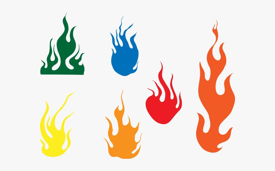 Hand Emoji Clipart Flame - Color Fire Clip Art, Transparent Clipart
