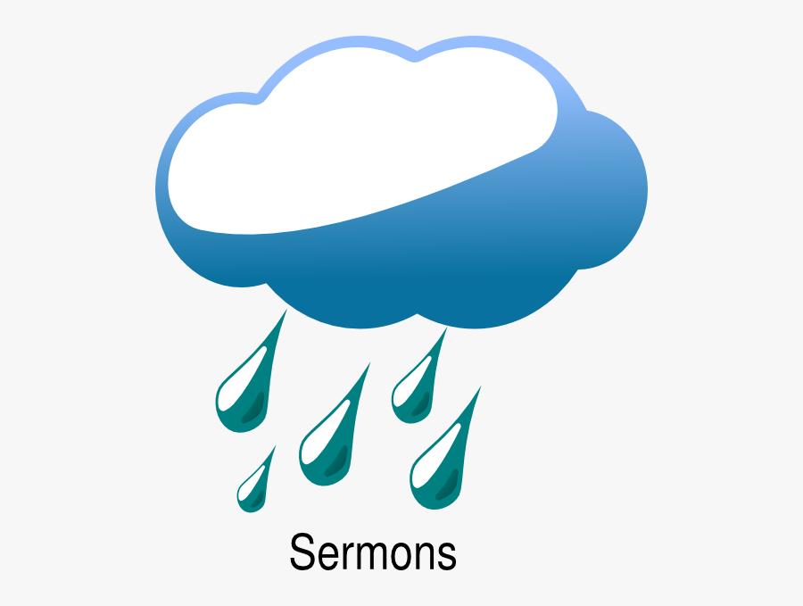 Rainfall - Clipart - Clip Art Rain Png, Transparent Clipart