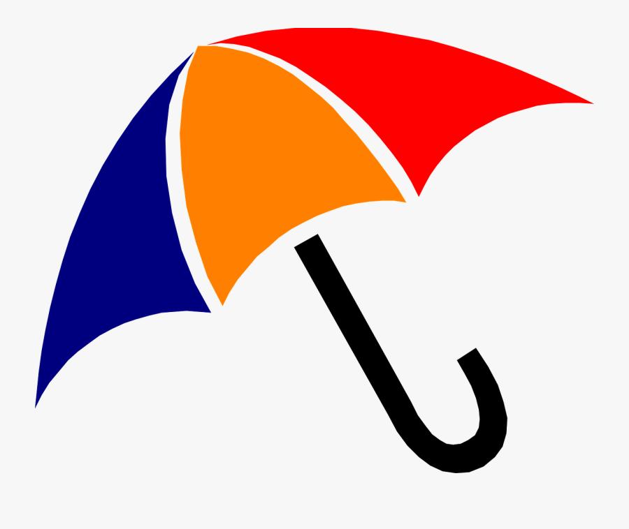 Transparent Umbrella And Rain Clipart - Rain Umbrella Clip Art, Transparent Clipart