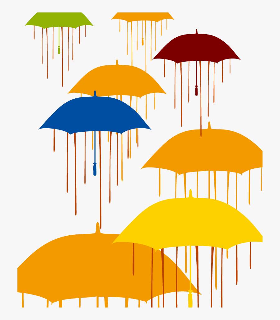 Transparent Umbrella Png - Rain Vector, Transparent Clipart