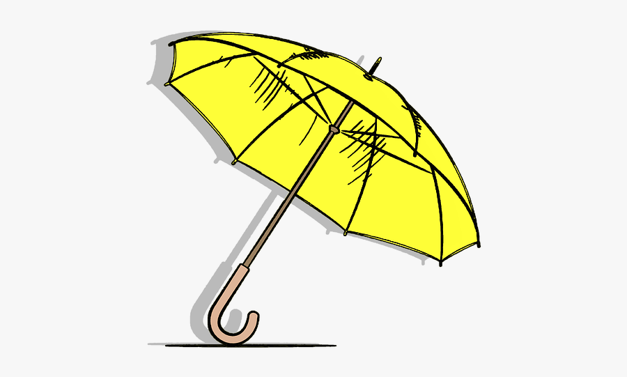 Umbrella, Sunny, Rain, Hot, Wether, Clipart, Sticker - Rain Sticker Png, Transparent Clipart