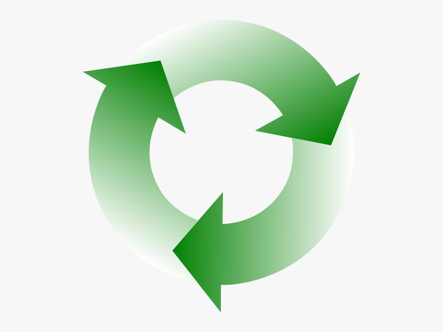Transparent Circle Arrow Png - Green Circle Arrows Png, Transparent Clipart