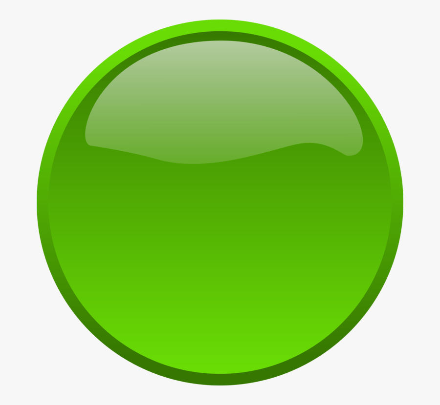 Green Circle Svg Clip Arts - Red And Green Button Png, Transparent Clipart