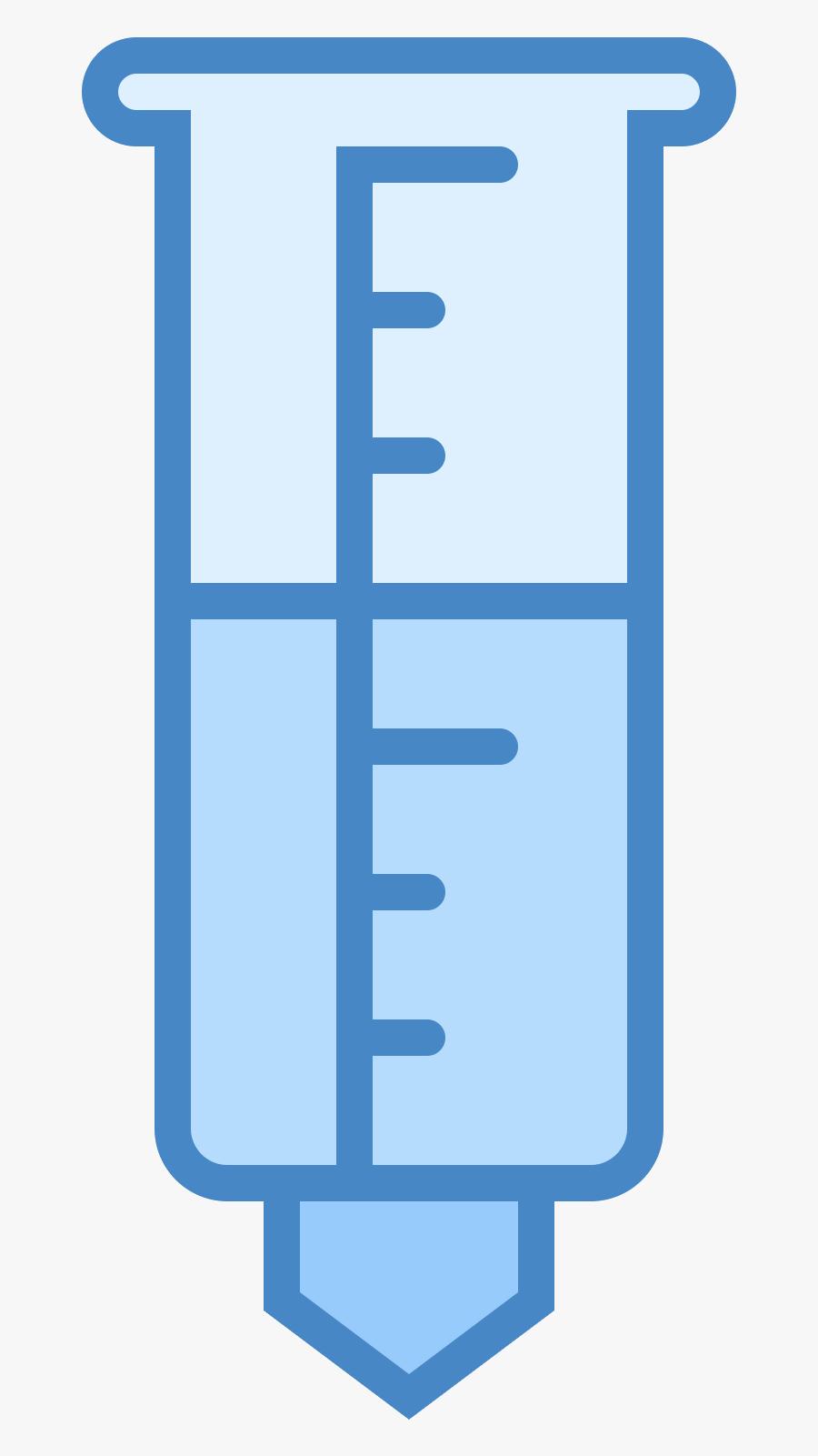 Rain Gauge Icon - Rain Gauge Transparent Background, Transparent Clipart