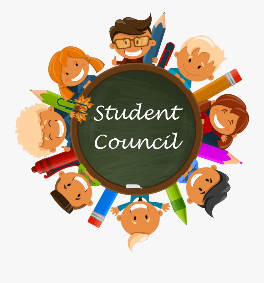 Cartoon Of Student Council - Student Council Clipart Free, Transparent Clipart