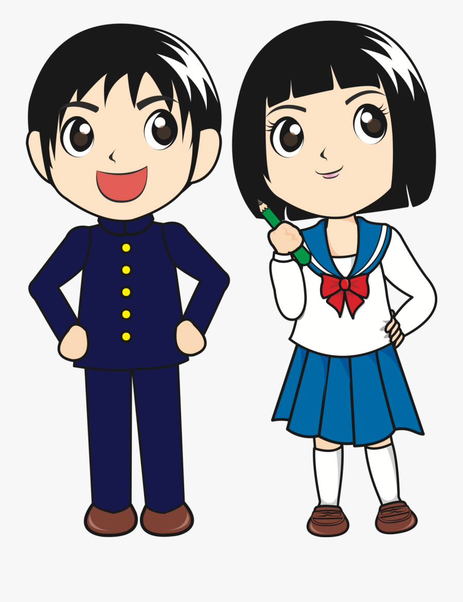 Student Boy And Girl Clipart, Transparent Clipart