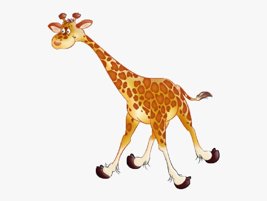 Giraffe Images Clipart - Fun Giraffe Animal Clipart, Transparent Clipart