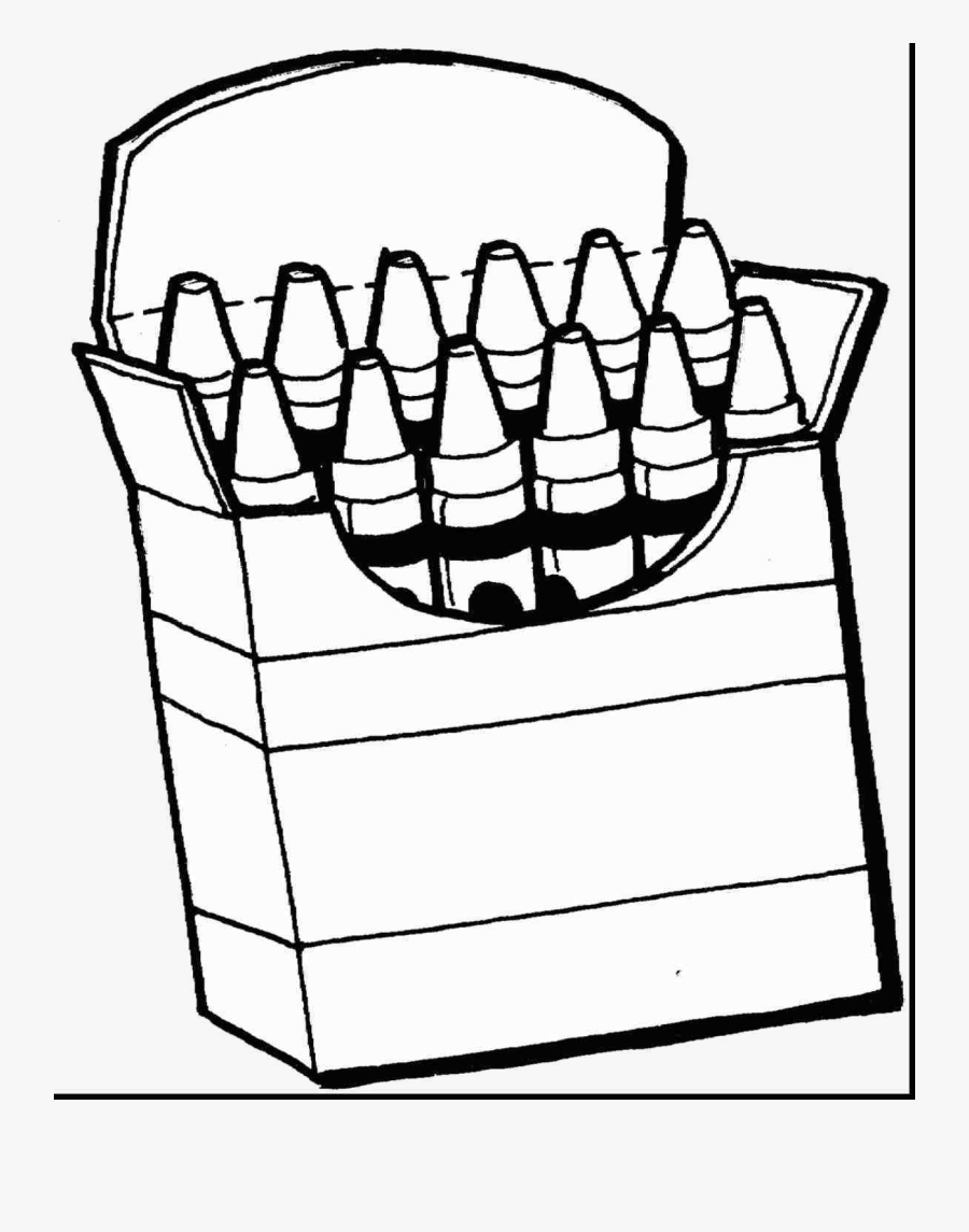Gray Crayon Coloring Clip Art Black And White Pages ...