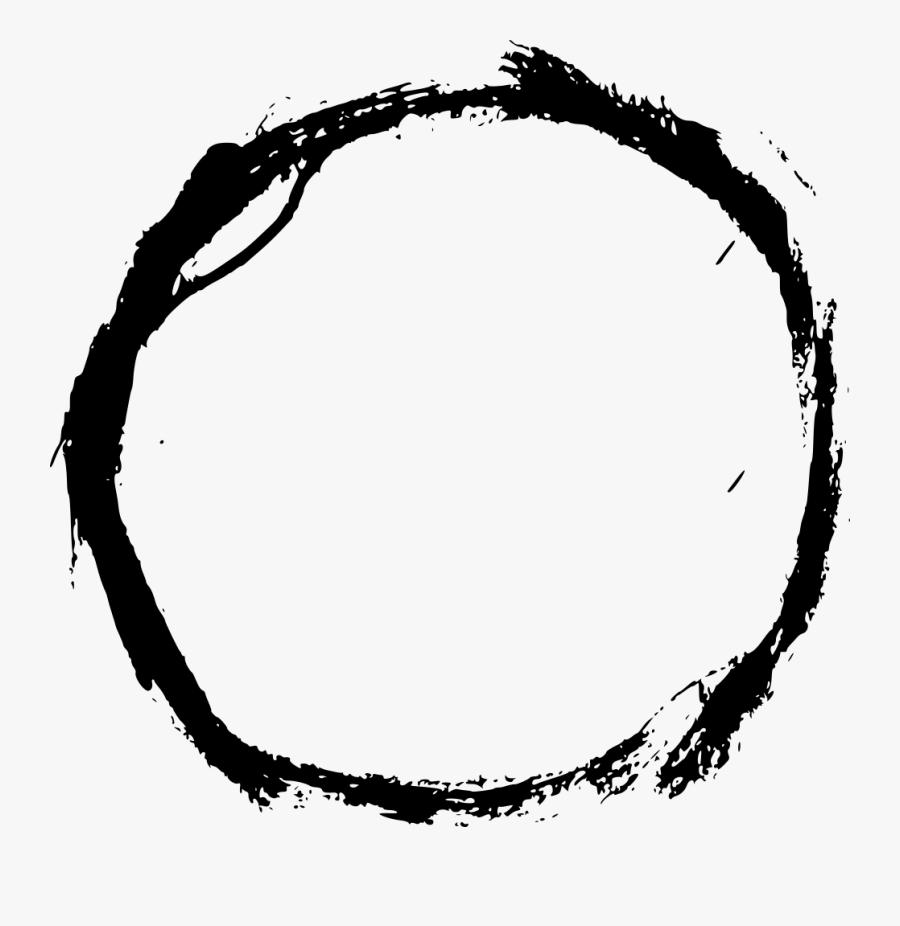Grunge Circle Circle Png, Transparent Clipart