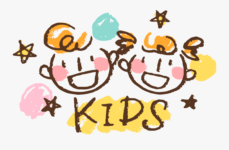 Logo Child Art Drawing - Kids Drawing Logo, Transparent Clipart
