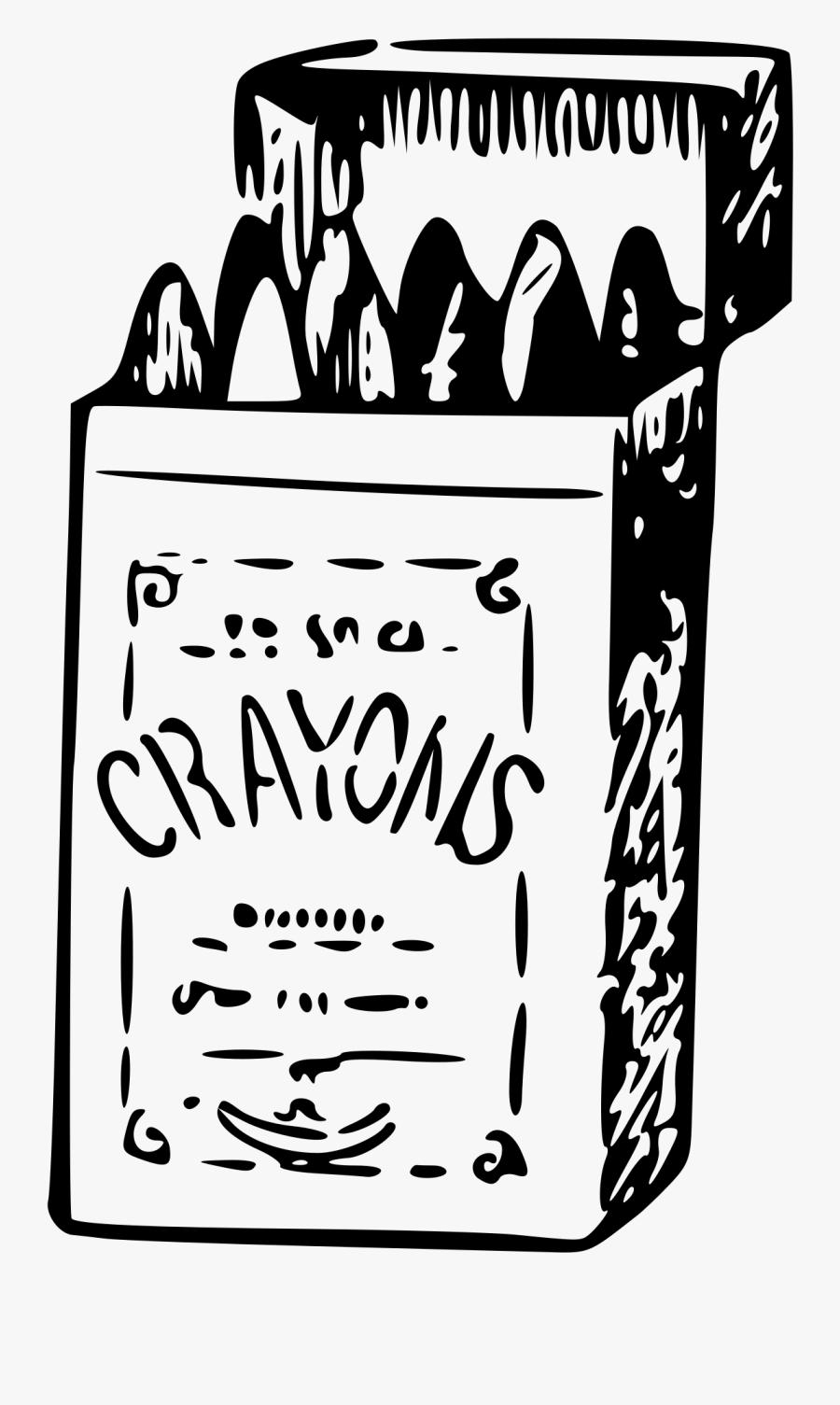 Crayons Clip Arts - Sketch Crayons, Transparent Clipart