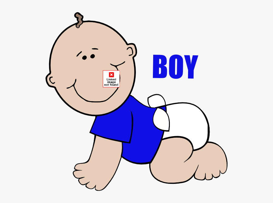 Baby Boy On Floor Crawling Clip Art - Baby Crawling Cartoon Png, Transparent Clipart