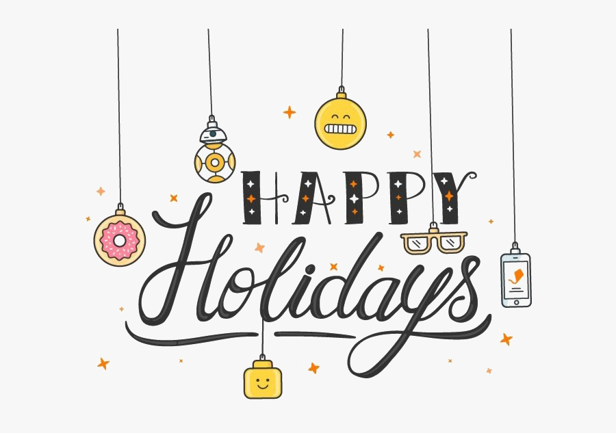 Transparent Image Vector Clipart - Happy Holidays Gif For Email, Transparent Clipart