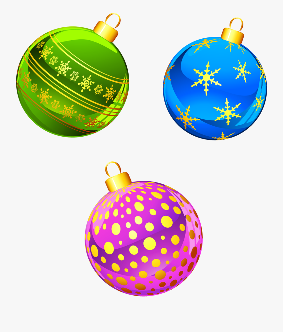 Holidays Clipart Transparent Background - Clipart Christmas Ornaments, Transparent Clipart