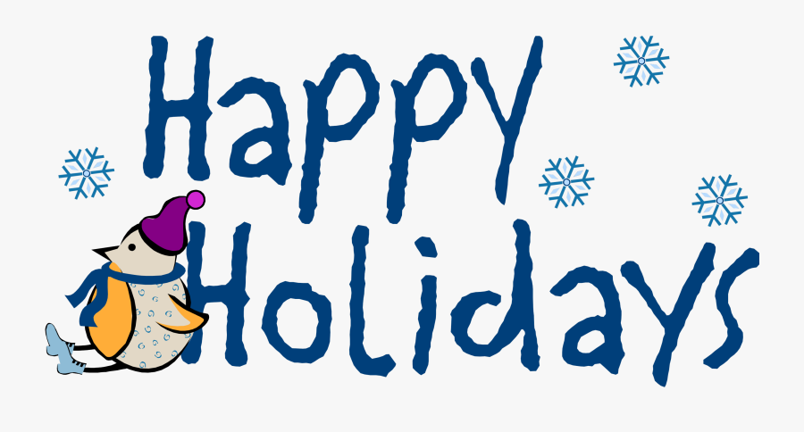 Transparent Background Happy Holidays Png, Transparent Clipart