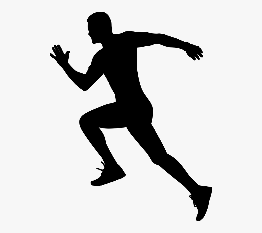 Free Photo Hurry Up - Silhouette Of Someone Running, Transparent Clipart