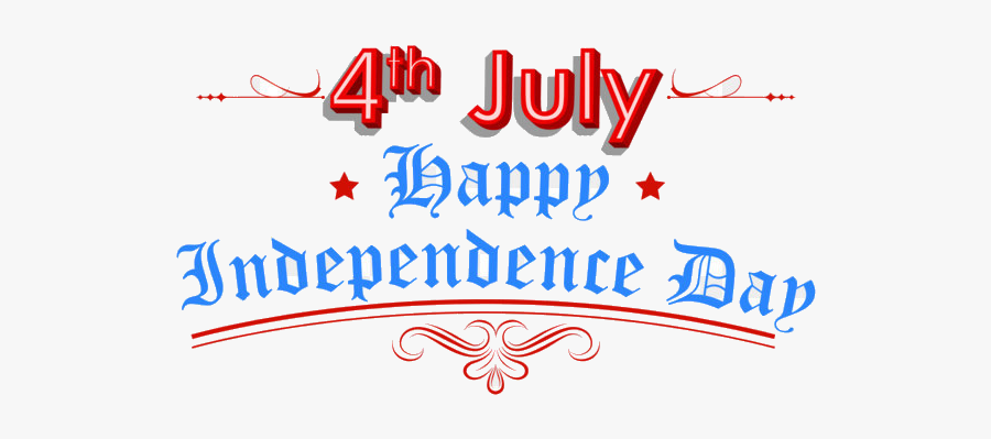 4th Of July United States Independence Day Public Holiday - Happy Independence Day America 2019, Transparent Clipart