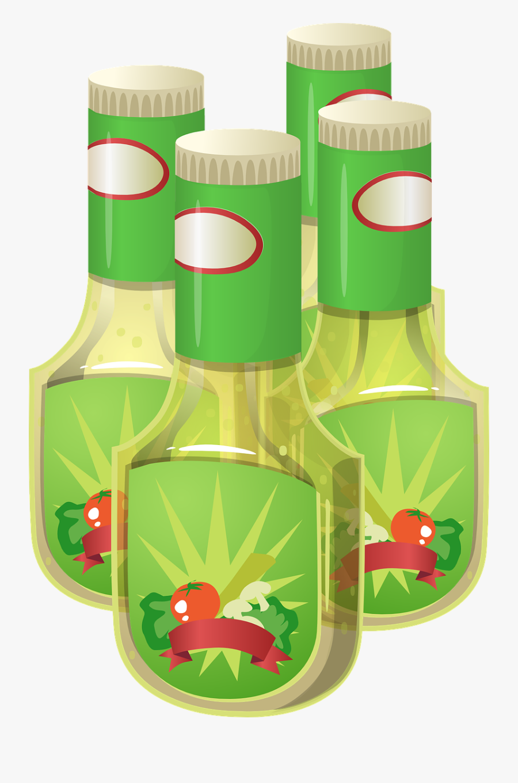 Salad Free To Use Clip Art - Clip Art Salad Dressing, Transparent Clipart