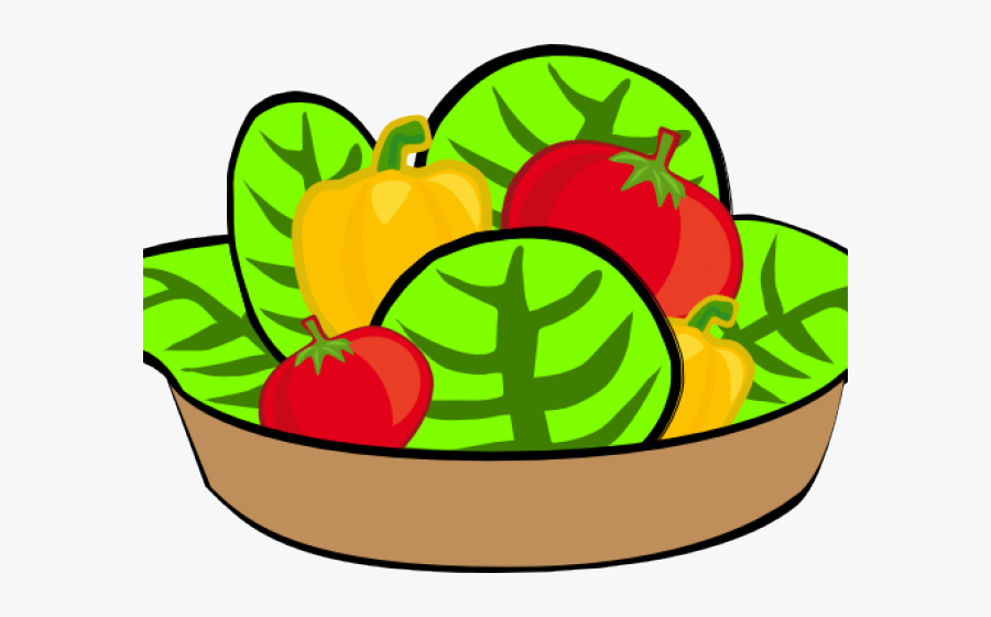 Transparent Tomato Clipart - Transparent Background Salad Clip Art, Transparent Clipart