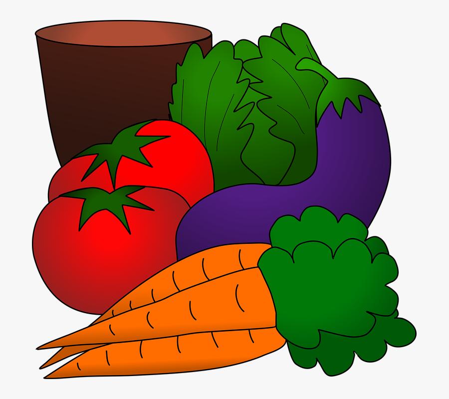Gambar Animasi Sayuran Dan Buah Free Transparent Clipart