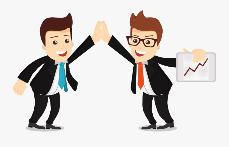 10 Tips To Shine On A Job Interview - Cartoon Salesman Png, Transparent Clipart