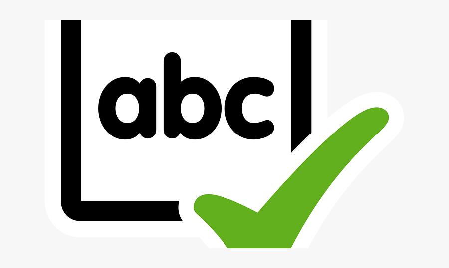 Grammar Clipart Check, Transparent Clipart