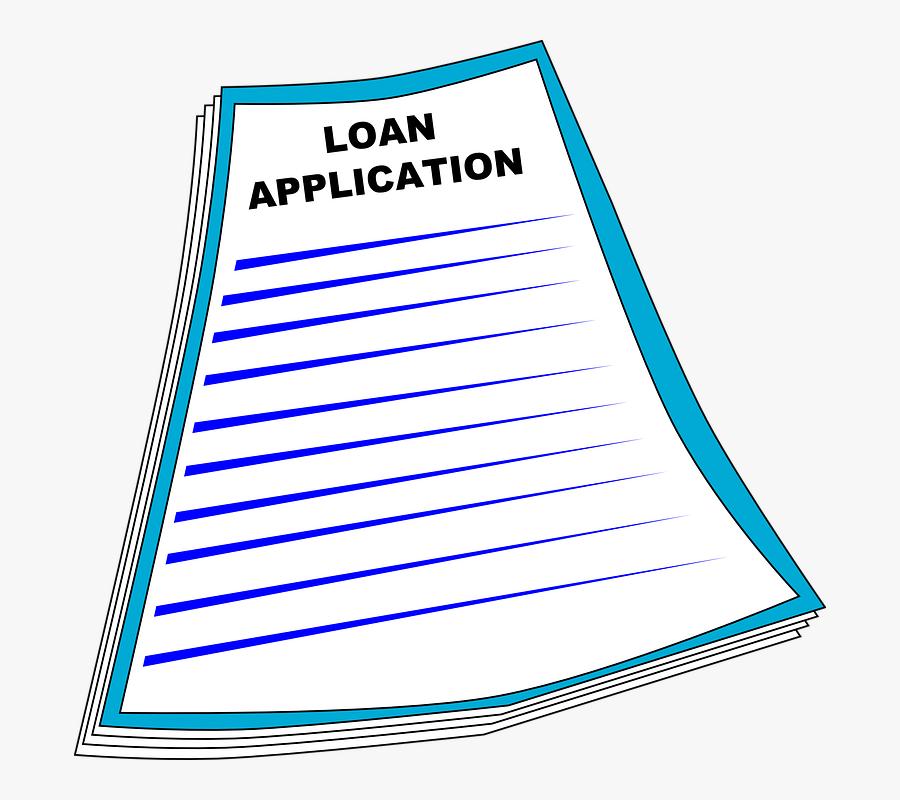Money Check Clipart - Application Clip Art, Transparent Clipart