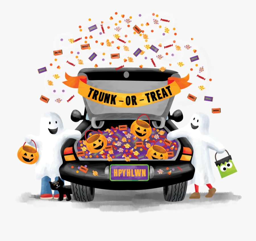 Trunkortreat - Trunk Or Treat Png, Transparent Clipart