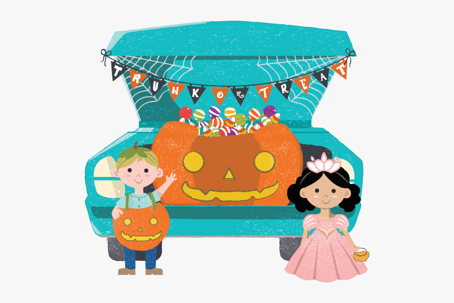 Trunk Or Treat - Trunk Or Treat Clipart, Transparent Clipart