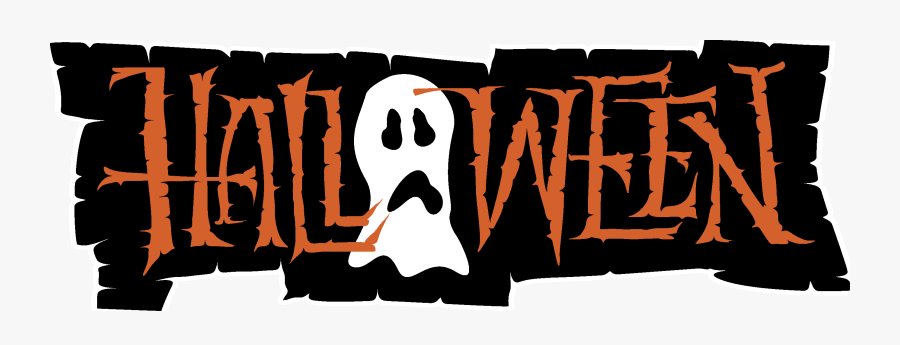 Transparent Haloween Clipart - Trick Or Treat Word Art, Transparent Clipart