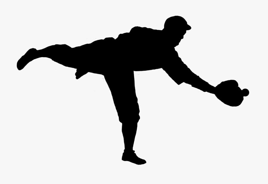 Baseball Glove Infielder Pitcher Baseball Player - Catching A Baseball Png, Transparent Clipart