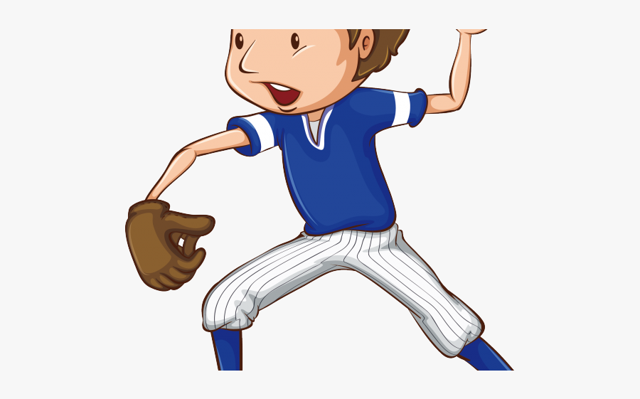 Clip Art Baseball Kids Clipart - Playing Baseball Clipart Png , Free Transparent  Clipart - ClipartKey