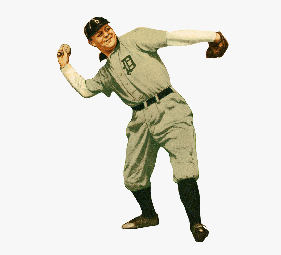Hd Mcintyre Baseball Player Picture - Vintage Baseball Player Png, Transparent Clipart