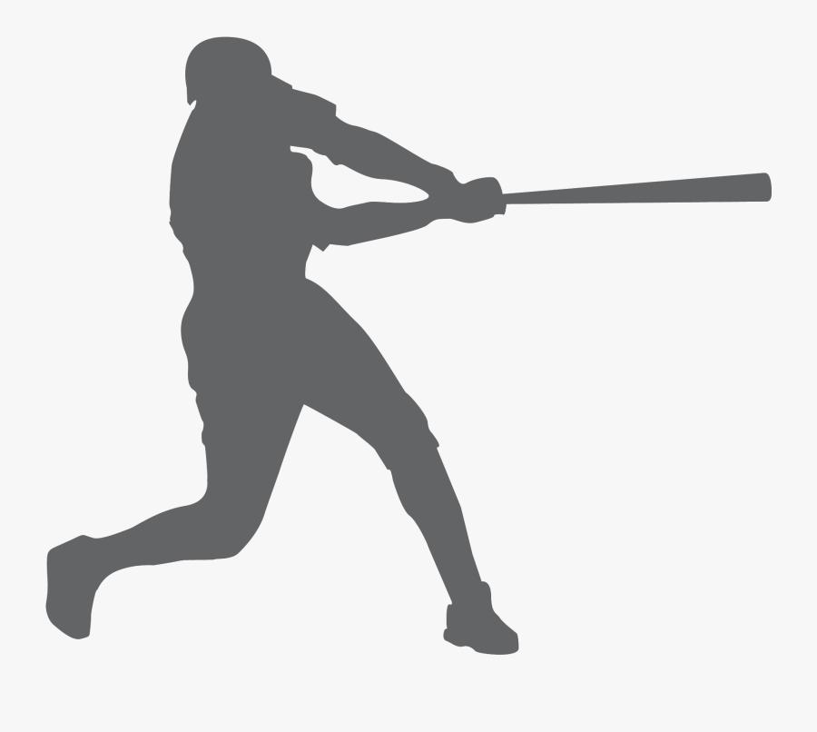 Transparent Free Softball Clipart - Baseball Player Clipart Png, Transparent Clipart