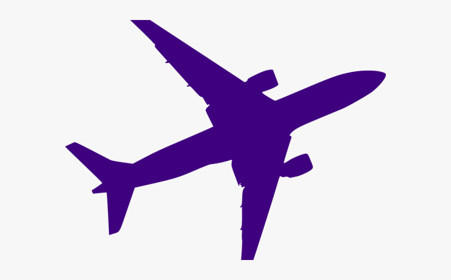 Transparent Jet Silhouette Png Black And White Airplane Free