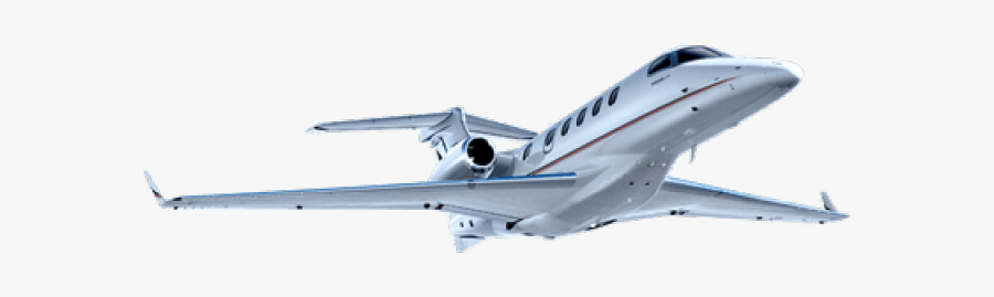 Jet Clipart Private Jet - Embraer Phenom 300 Without Background, Transparent Clipart