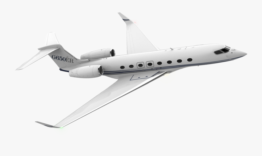 Private Jet White Background, Transparent Clipart